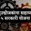 लघुउद्योजकांना सहाय्यक पाच सरकारी योजना