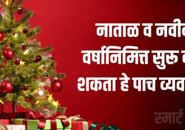 नाताळ व नवीन वर्षानिमित्त सुरू करू शकता हे पाच व्यवसाय